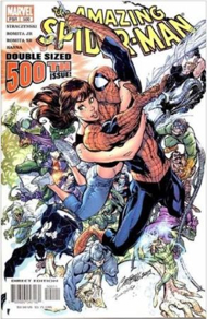The Amazing Spider-man - 500 cover