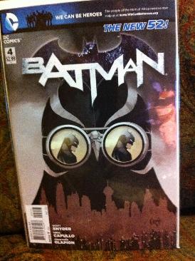 Batman - 4 cover