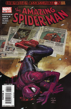 The Amazing Spider-man - 588 cover
