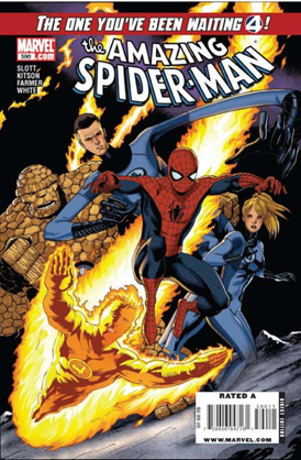 The Amazing Spider-man - 590 cover