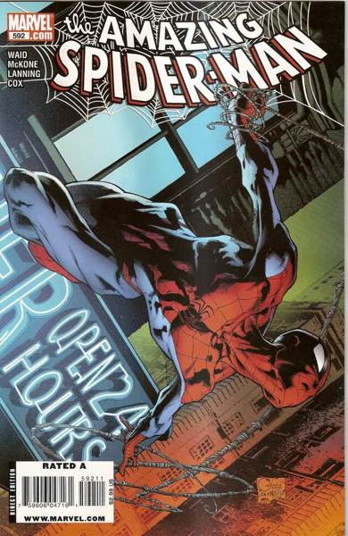The Amazing Spider-man - 592 cover
