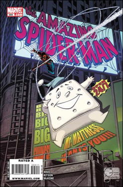 The Amazing Spider-man - 594 cover