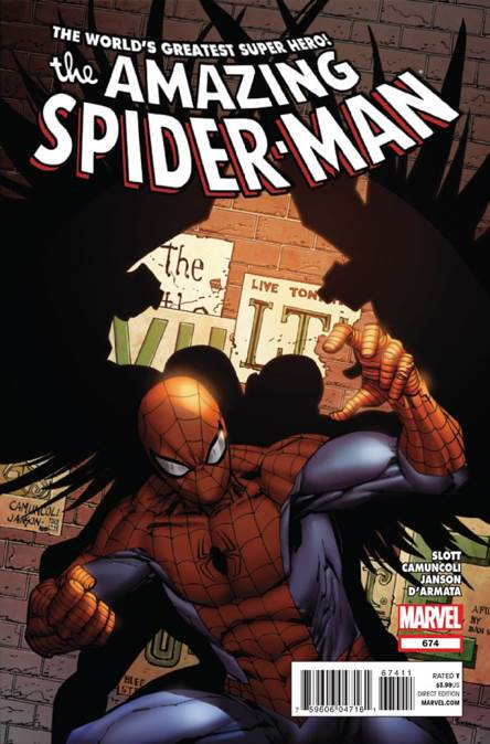 The Amazing Spider-man - 674 cover