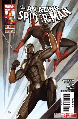 The Amazing Spider-man - 609 cover