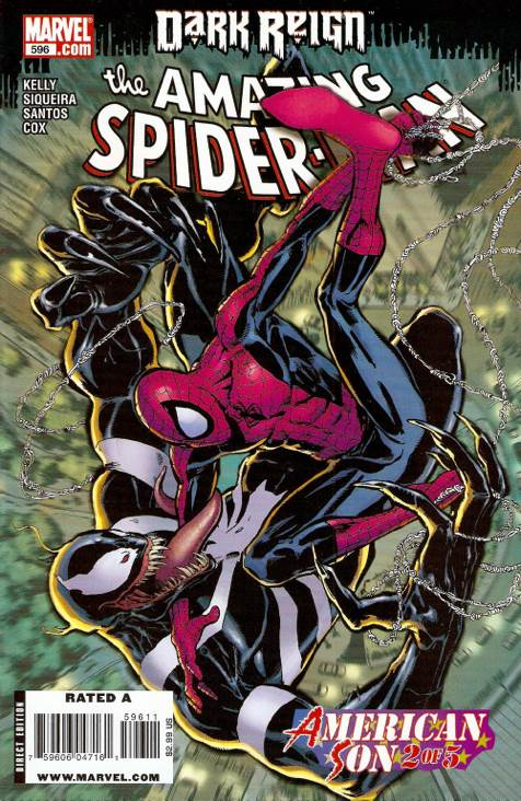The Amazing Spider-man - 596 cover