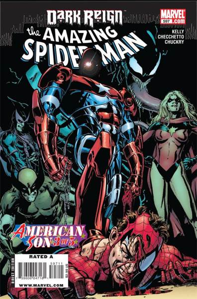 The Amazing Spider-man - 597 cover