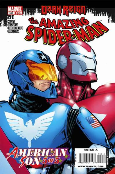 The Amazing Spider-man - 599 cover