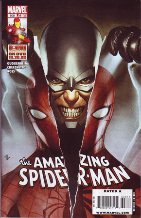 The Amazing Spider-man - 608 cover