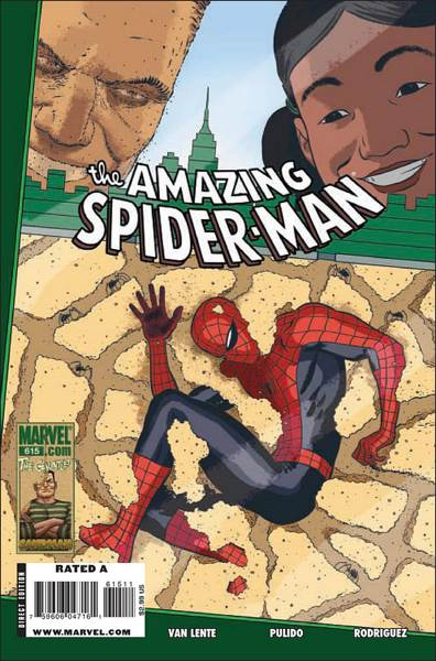 The Amazing Spider-man - 615 cover