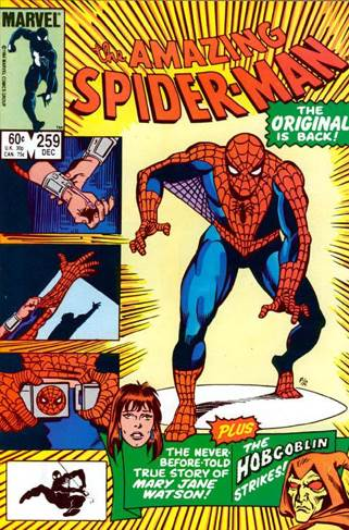 The Amazing Spider-man - 259 cover