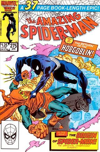 The Amazing Spider-man - 275 cover