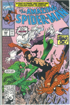 The Amazing Spider-man - 342 cover