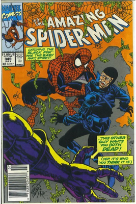 The Amazing Spider-man - 349 cover