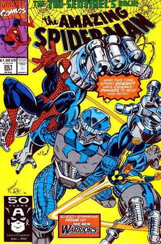 The Amazing Spider-man - 351 cover