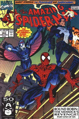 The Amazing Spider-man - 353 cover