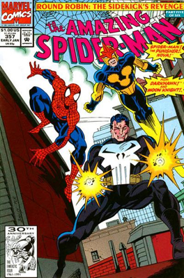 The Amazing Spider-man - 357 cover