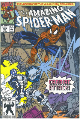 The Amazing Spider-man - 359 cover