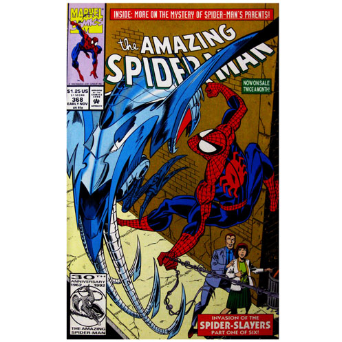 The Amazing Spider-man - 368 cover