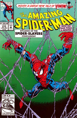 The Amazing Spider-man - 373 cover