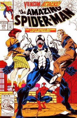 The Amazing Spider-man - 374 cover