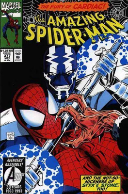 The Amazing Spider-man - 377 cover