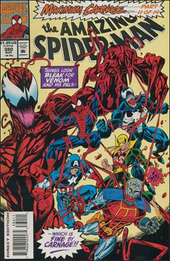 The Amazing Spider-man - 380 cover