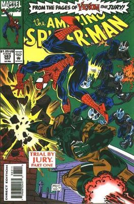 The Amazing Spider-man - 383 cover