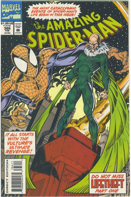 The Amazing Spider-man - 386 cover