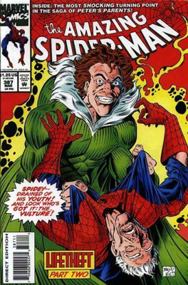 The Amazing Spider-man - 387 cover
