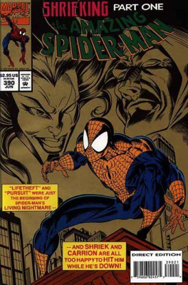 The Amazing Spider-man - 390 cover