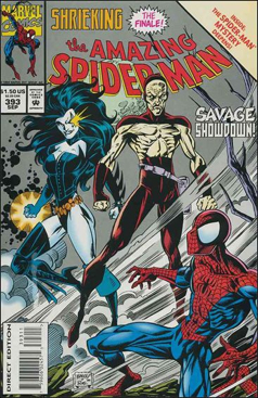 The Amazing Spider-man - 393 cover