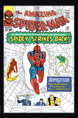The Amazing Spider-man - 19 cover