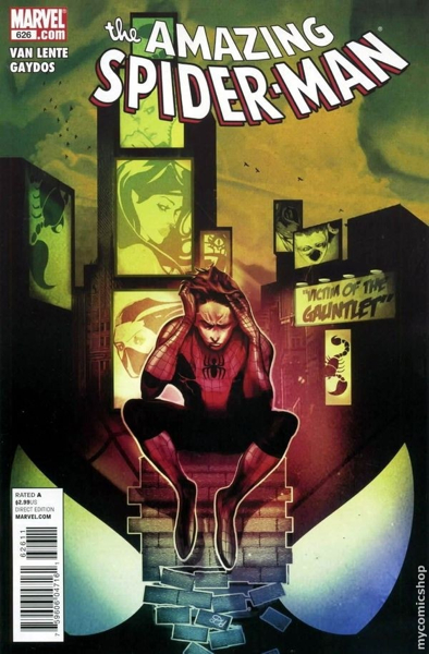 The Amazing Spider-man - 626 cover