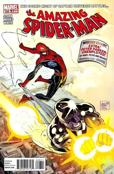 The Amazing Spider-man - 628 cover