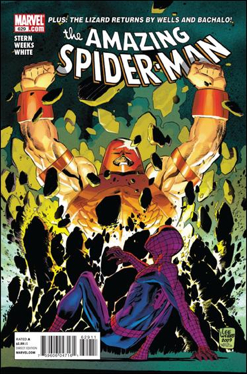 The Amazing Spider-man - 629 cover