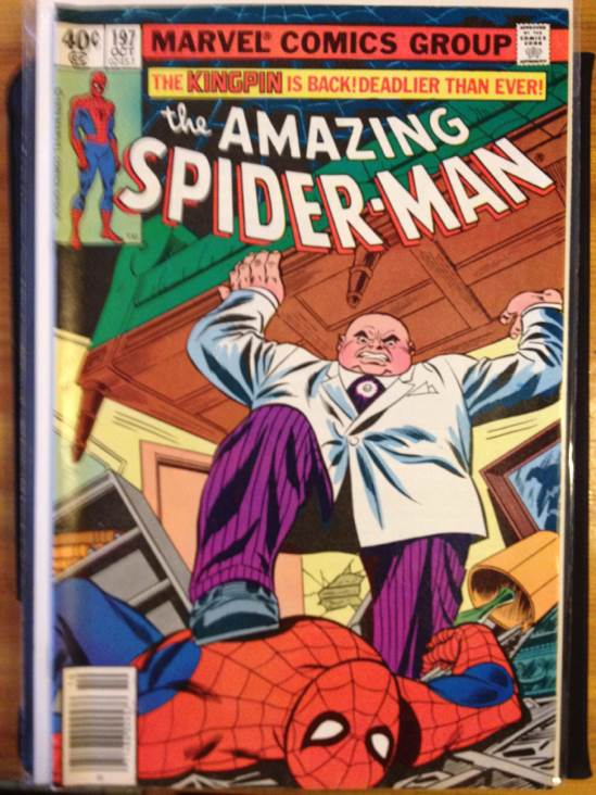 The Amazing Spider-man -  cover