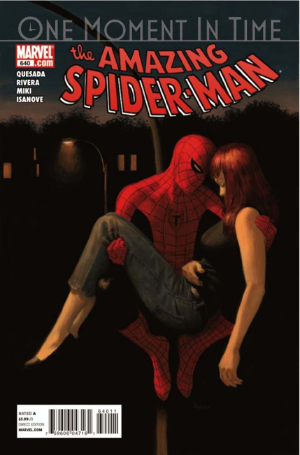 The Amazing Spider-man - 640 cover