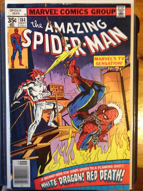 The Amazing Spider-man - 184 cover