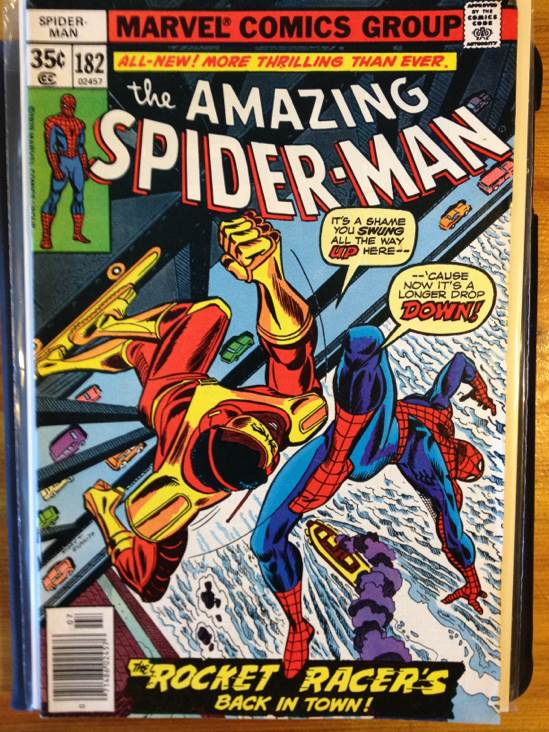 The Amazing Spider-man - 182 cover