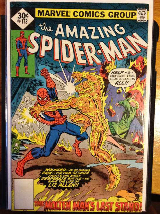 The Amazing Spider-man - 173 cover