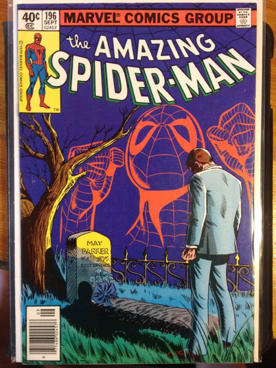 The Amazing Spider-man - 196 cover