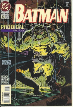 Batman - 512 cover