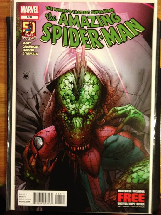 The Amazing Spider-man - 688 cover