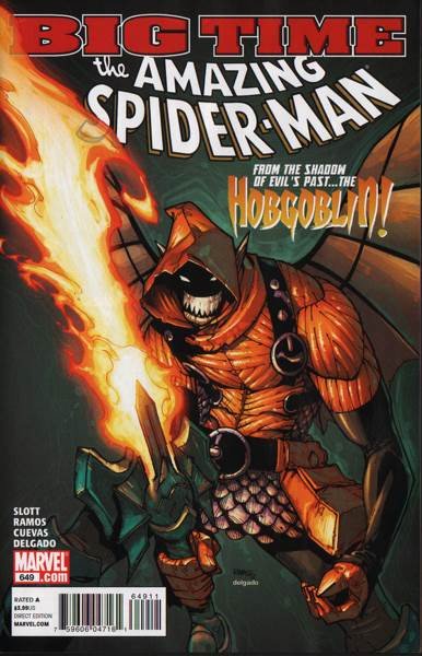 The Amazing Spider-man - 649 cover