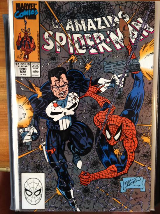 The Amazing Spider-man - 330 cover