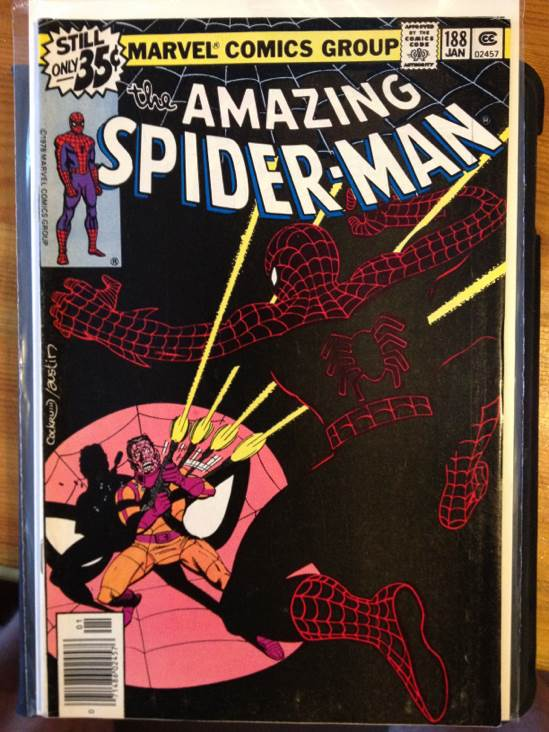 The Amazing Spider-man - 188 cover