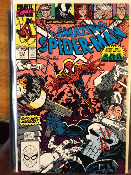 The Amazing Spider-man - 331 cover