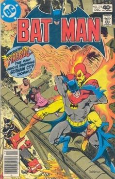 Batman - 318 cover