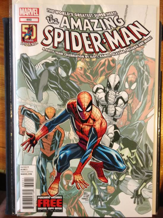 The Amazing Spider-man - 692 cover