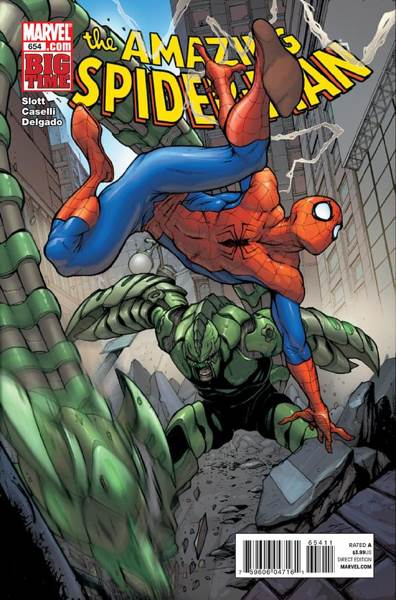The Amazing Spider-man - 654 cover